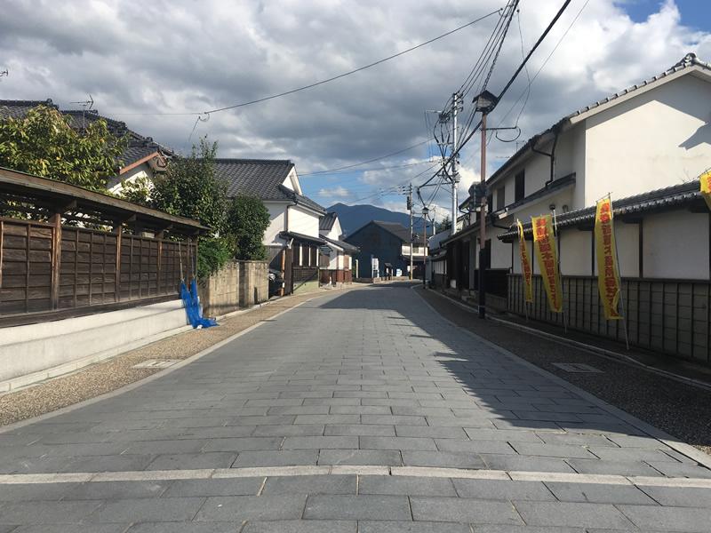 長崎街道(北九州市八幡西区 古屋ノ瀬)