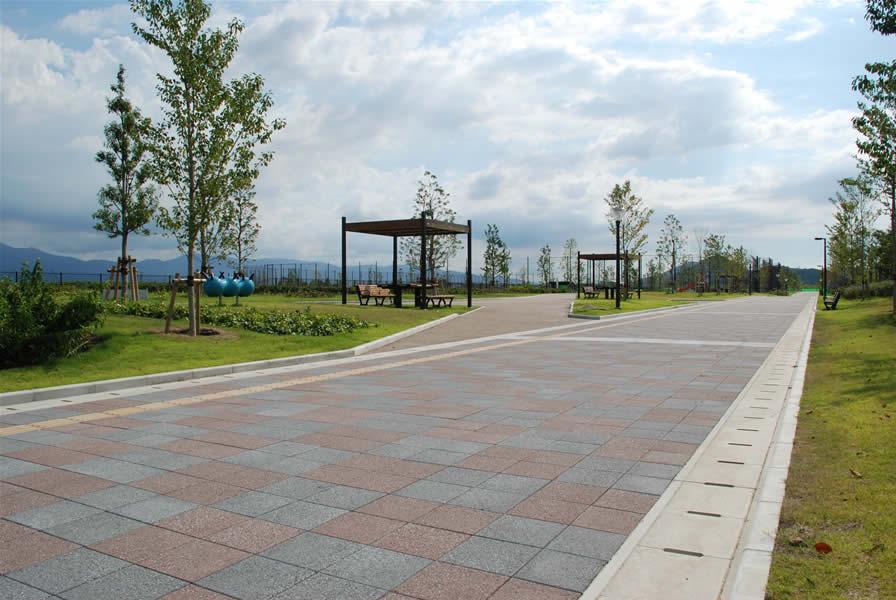 今津運動公園(平板ブロック)