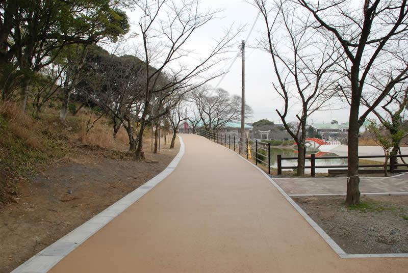 福岡県中間市垣生公園(NS218舗装工)