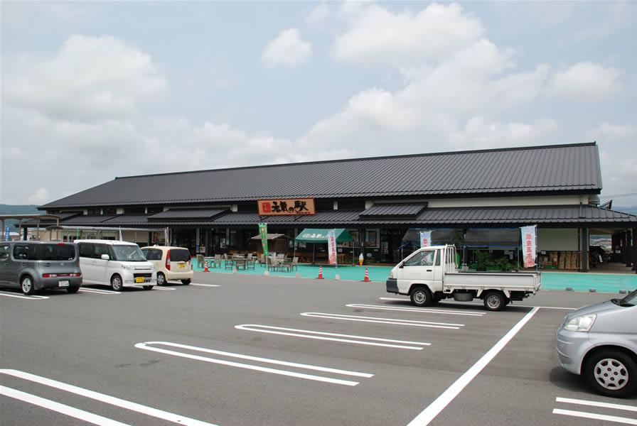 日田天領水の里・元気の駅(景観透水性舗装)