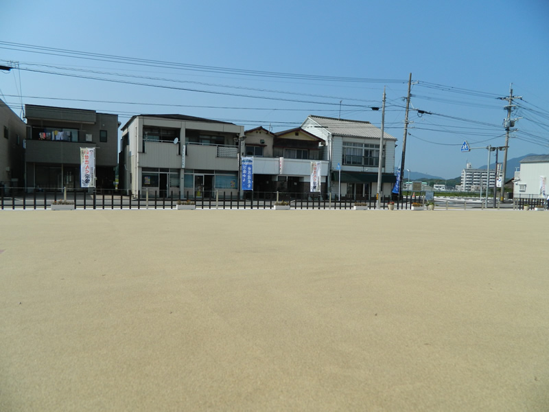 田熊石畑遺跡歴史公園(樹脂系滑り止め舗装・トップ付)