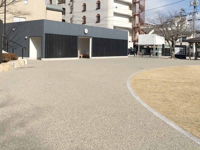 井上公園(透水性脱色アスファルト舗装)