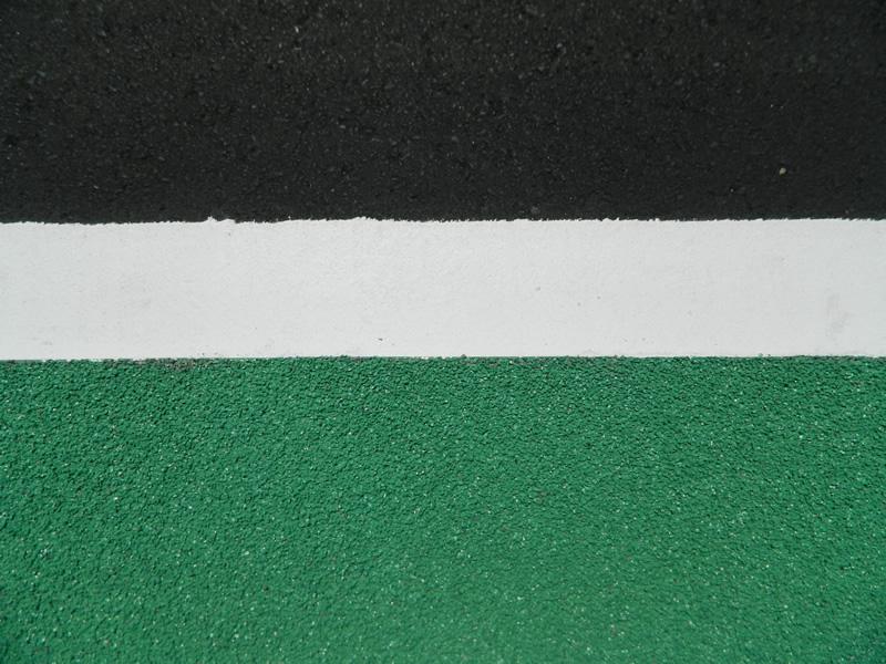 豊前市内路側帯薄層カラー舗装工事(薄層カラー舗装)